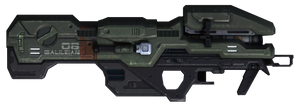 Halo 3 M6 Spartan Laser by ToraiinXamikaze