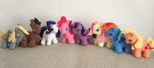 My little pony- Group- for sale by Kazeki-chan