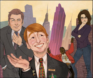 30 Rock by babsdraws