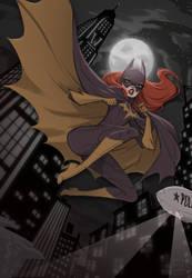 Batgirl aka Babs by babsdraws