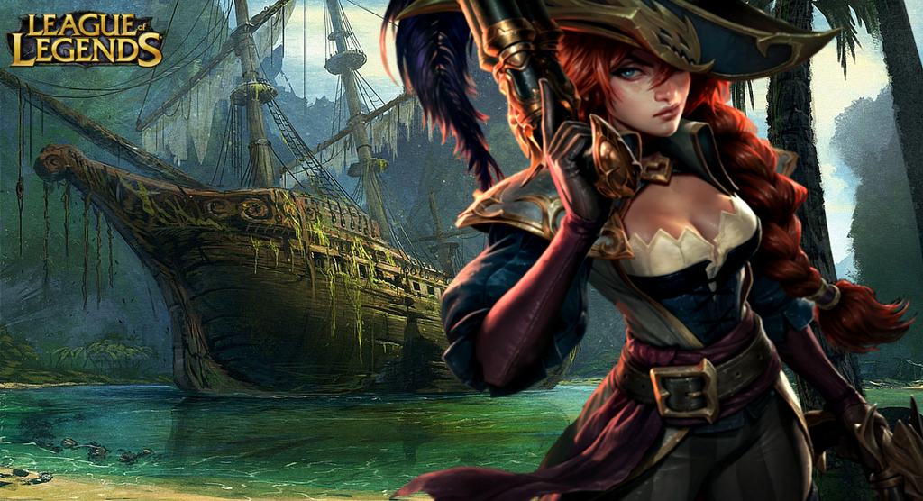 League Of Legends Miss Fortune Wallpaper: Miss Fortune Wallpaper (League Of Legends) By M-Mendes On