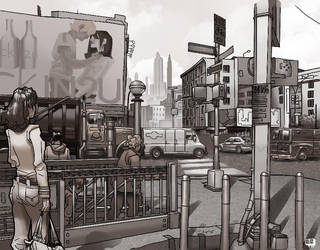 New York By Kartinka75 by EComrad