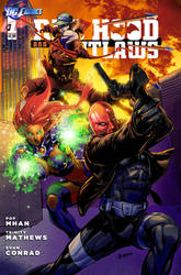 Redhood and the Outlaws with Titles by EComrad
