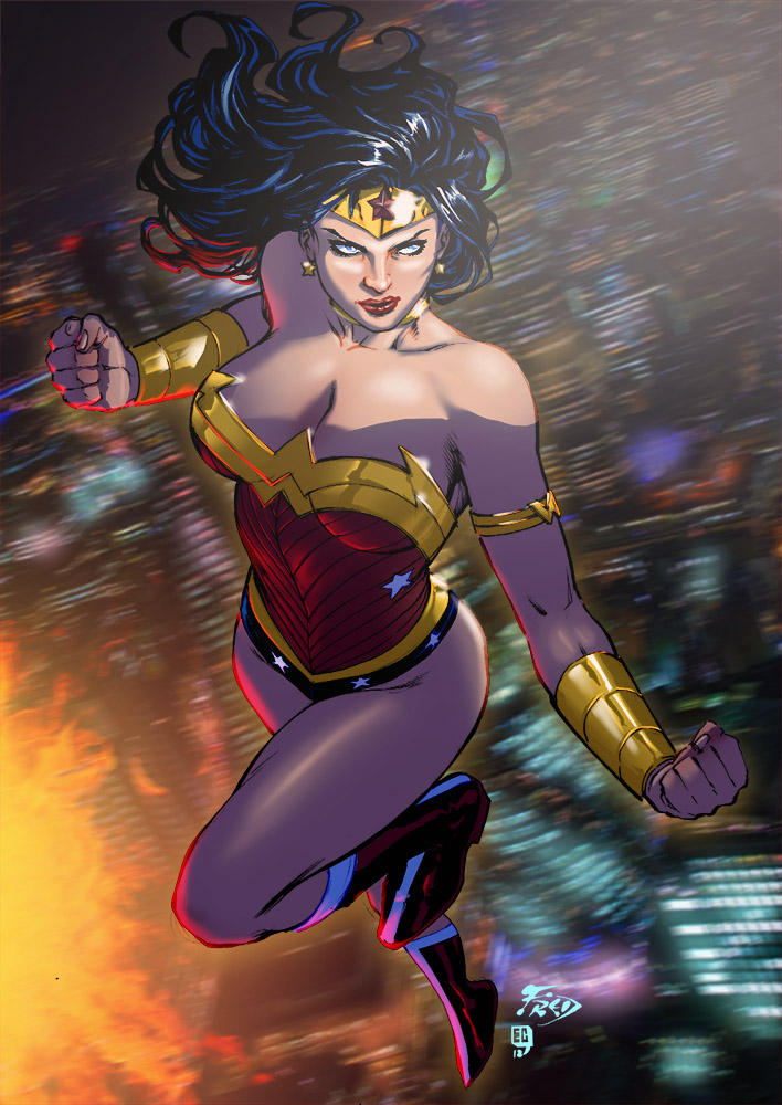 Wonder Woman by EComrad