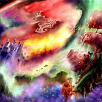 oc oldies: alien world by Bakenius