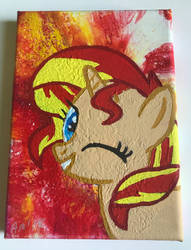 Sunset Shimmer by Kittychanann