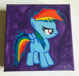 Filly Rainbow Dash by Kittychanann