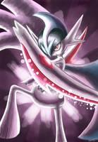 Request: Mega Gallade's Psycho Cut by ECrystalica
