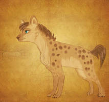 My Hyena by Ceksy-Hyena