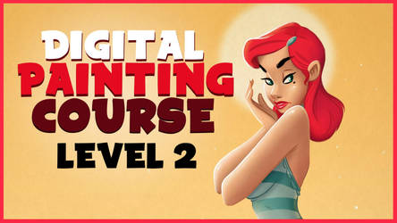 Digital Painting Cartoons Course Level 2 by ToonBoxStudio