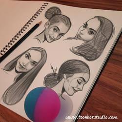 Sketchbook Sample 1 by ToonBoxStudio