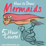 How to draw Mermaids by ToonBoxStudio