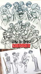 How to Draw the Cherries Course by ToonBoxStudio