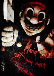 -Super Horror Mario- by Shadow-Shana