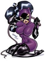 Balent Catwoman by JWadeWebb
