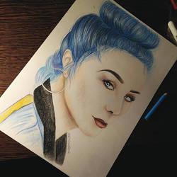 Jaira Burns drawing by UchihaAkanee