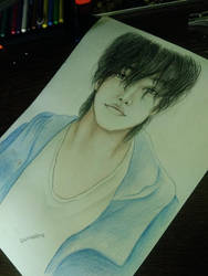 Satoh Takeru Drawing(The liar and his lover) by UchihaAkanee
