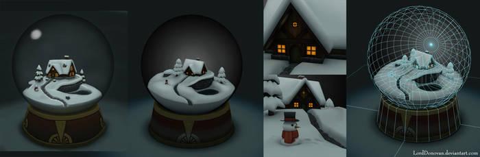 Snow Globe Project by LordDonovan