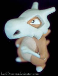 Cubone Sculpture by LordDonovan