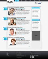 WordPress Blog Template by swati05