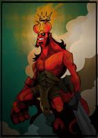 Hellboy - Anung Un Rama (Final) by El-Ro-Bo