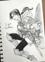 Inktober: Master Assassin by KikyoYuuki