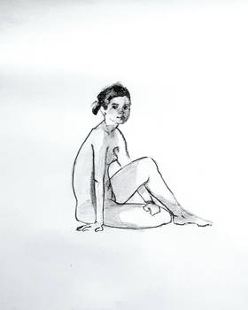 lifedrawing petite woman by Neivan-IV