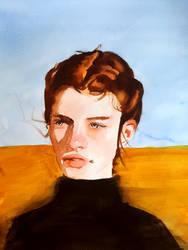 portrait in the desert sun by Neivan-IV