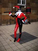 Batman - Harley Quinn by TheBlackPancake