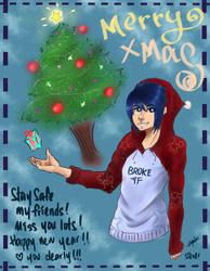 Merry Christmas ! by SilverFickle