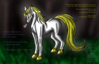 A Unicorn... by Snowfyre