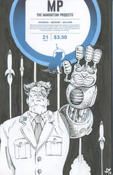 Manhattan Projects 1 by Death-Ray-Graphics