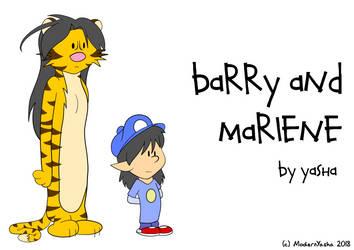 barry and marlene by ModernYasha
