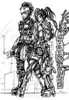 Cyberpunks by BloodlustComics