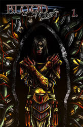 Bloodlust 1 cover by BloodlustComics