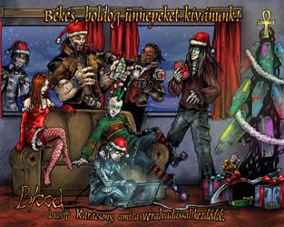 Bloodlust Christmas 2009 by BloodlustComics