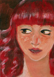 Freckles by CurCur