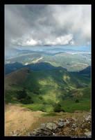 View from La Rhune by kil1k