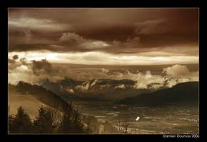 Morning Grenoble by kil1k