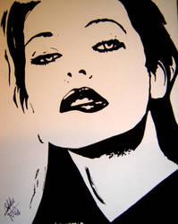 Milla Jovovich by blackxroseximmortal