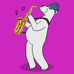 Jazz Polar Bear by SeanDrawn