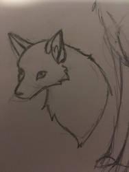 3/4 nose finally  by Foxflightly