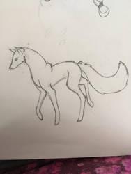 Sketch: Silvi 1 by Foxflightly