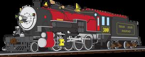 Texas State Railroad #300 by vincentberkan
