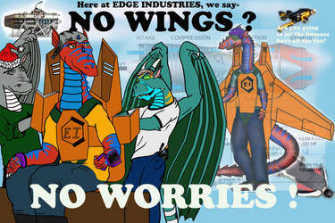 New Wings - A mini-story by Rekalnus