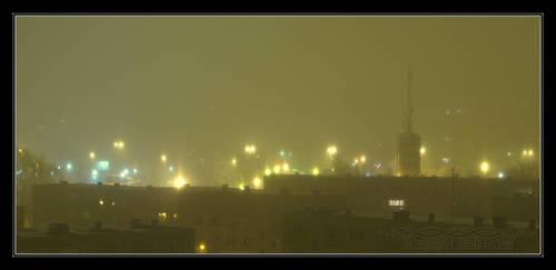 2011.01.29 Ice fog pillars by Atmospheric-Bloo