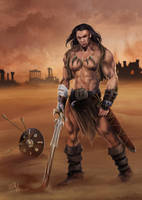 Barbarian by clefchan