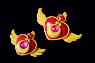 sailor moon super s brooch by clefchan