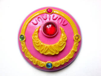 Sailor Moon brooch new version by clefchan
