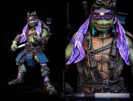 Teenage Mutant Ninja Turtles 2014Donatello repaint by clefchan